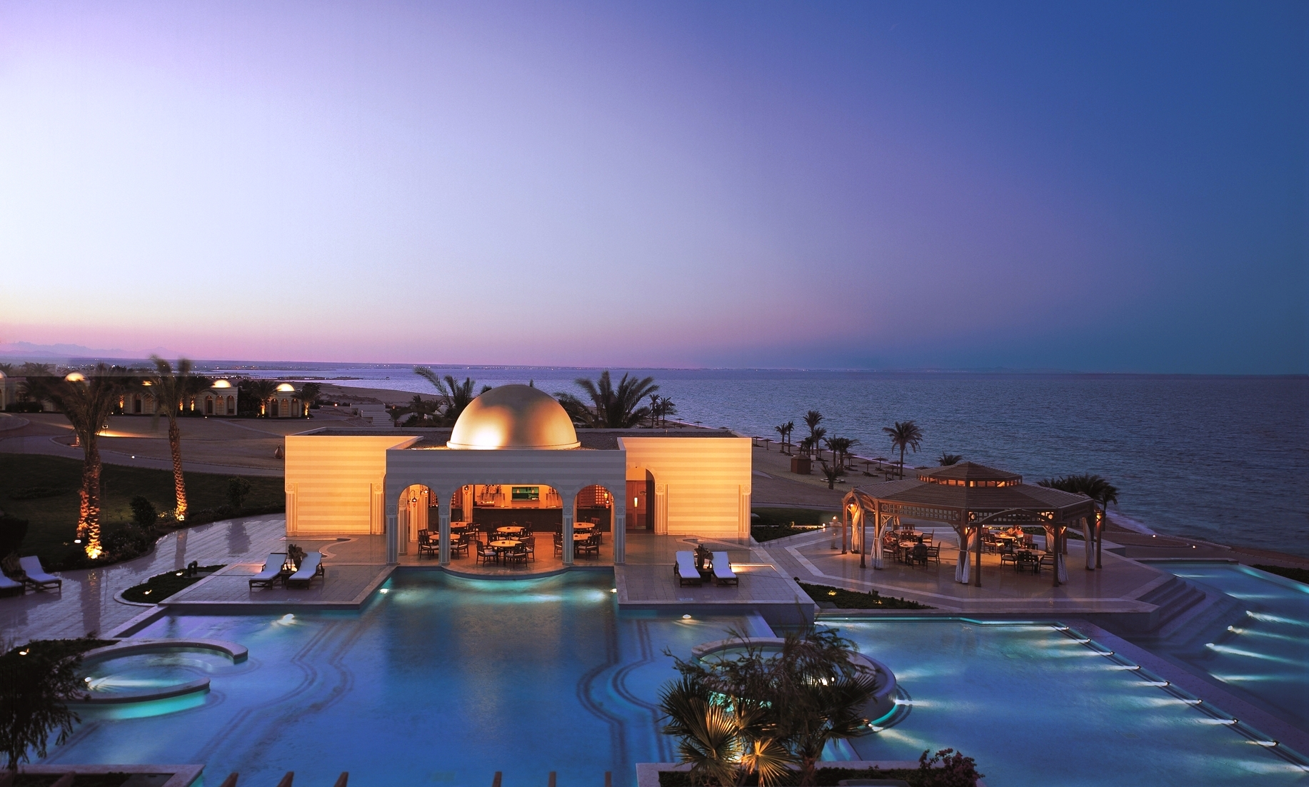 Eye Awards: The World's best luxury hotels Oberoi Sahl Hasheesh  20 01